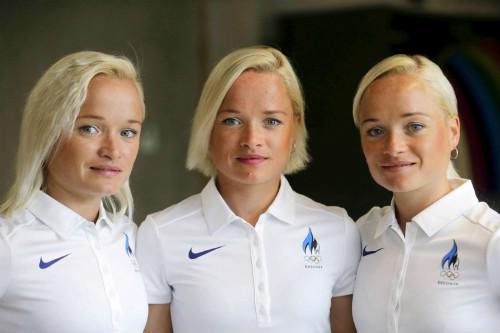 Olympic: Chị em sinh ba lập kỉ lục vô tiền khoáng hậu - 2