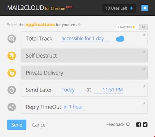 """""""Độc chiêu"""" gửi email tự hủy sau 5 phút - 3"""