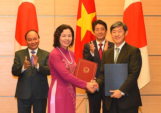 Hai Thủ tướng Việt-Nhật: Không được quân sự hóa Biển Đông - 5