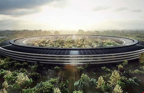 """Trụ sở """"5 tỉ đô"""" tuyệt đẹp của Apple - 1"""