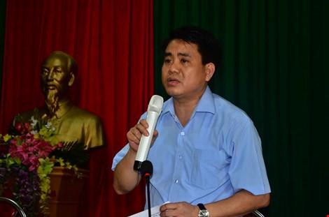 Chủ tịch Chung đối thoại với người dân bãi rác Nam Sơn - 1