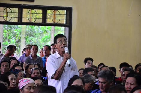 Chủ tịch Chung đối thoại với người dân bãi rác Nam Sơn - 3