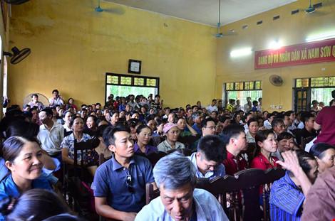 Chủ tịch Chung đối thoại với người dân bãi rác Nam Sơn - 2
