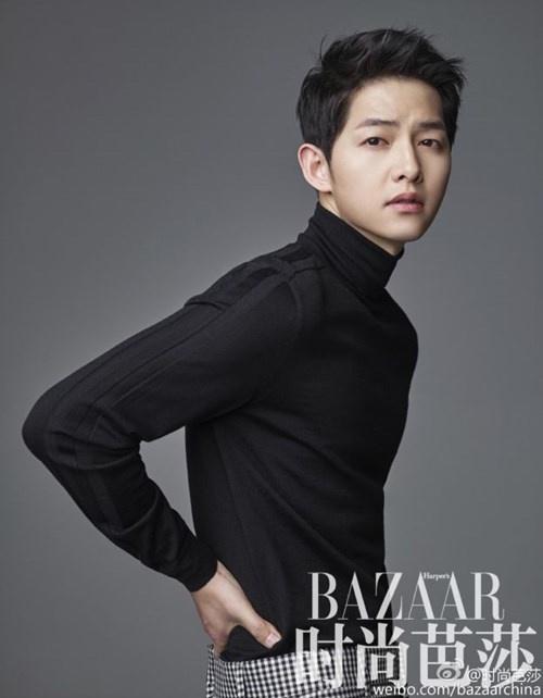 """Những khoảnh khắc """"đốn tim"""" fan của Song Joong Ki - 2"""