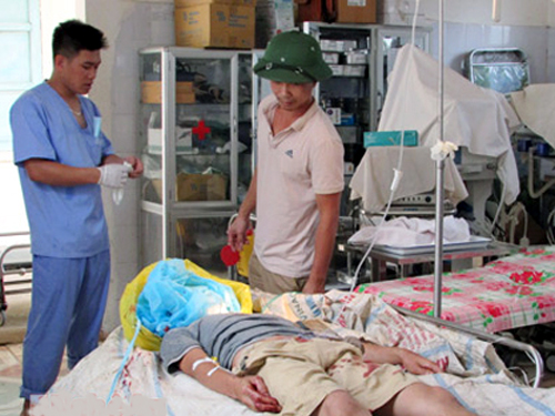 Bị vây bắt, nghi can truy sát 2 vợ chồng ở Nghệ An tự sát - 1