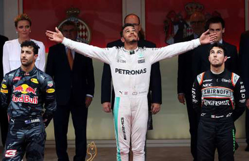 Video F1, Monaco GP: Lần đầu cho Hamilton - 2