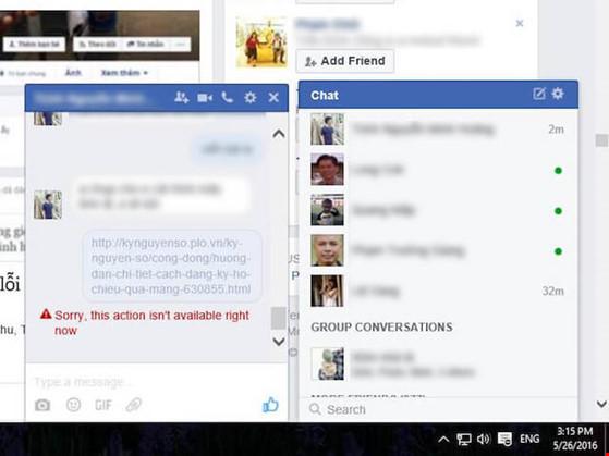 Xử lý lỗi không thể gửi link trên Facebook và Messenger - 1