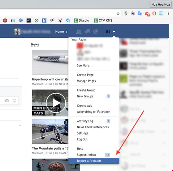 Xử lý lỗi không thể gửi link trên Facebook và Messenger - 3