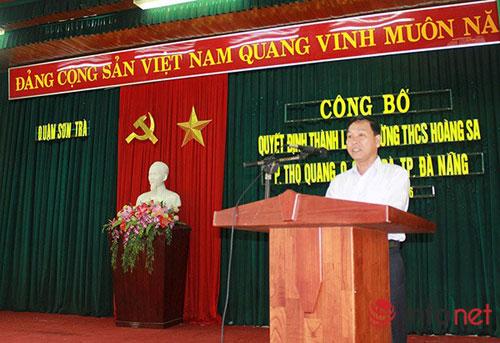 Đà Nẵng: Lần đầu tiên có trường học mang tên Hoàng Sa - 1