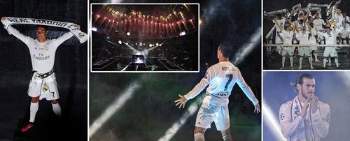 """Ronaldo """"độc hành"""" giải Cầu thủ hay nhất cúp C1 - 2"""