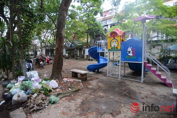 Trẻ em ở Hà Nội đang thiếu thốn sân chơi - 1