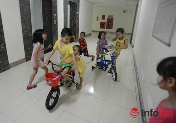Trẻ em ở Hà Nội đang thiếu thốn sân chơi - 5