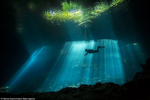 Khám phá nghĩa địa dưới nước của người Maya cổ - 5