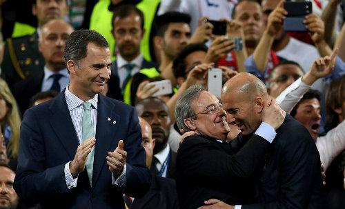 HLV Zidane vô địch cúp C1: Xin đừng là Di Matteo 2.0 - 1