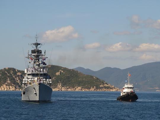 """""""Sát thủ diệt hạm"""" của Ấn Độ thăm Cam Ranh - 6"""