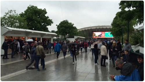 Roland Garros ngày 9: Hủy bỏ tất cả các trận - 3