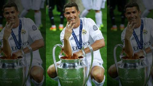 Vừa có cúp C1, Ronaldo vẫn thua xa Messi về danh hiệu - 1