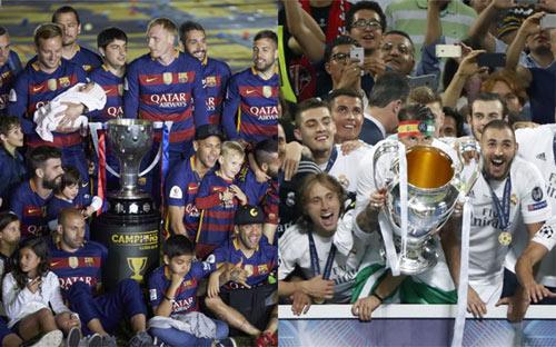 Không cúp C1, mùa giải của Barca vẫn tốt hơn Real - 1