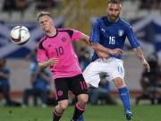 Bóng đá - Italia - Scotland: Nỗi lo hàng công