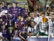 Không cúp C1, mùa giải của Barca vẫn tốt hơn Real