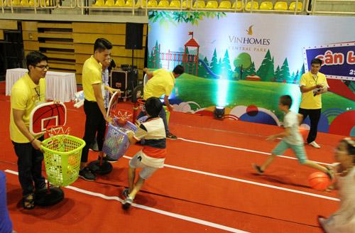Trò chơi thủ công, vận động hút trẻ em Sài Gòn - 10