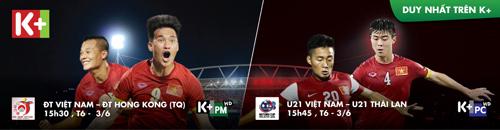 """Hai trận """"thử lửa"""" của U21 và tuyển VN: Háo hức chờ bóng lăn - 1"""