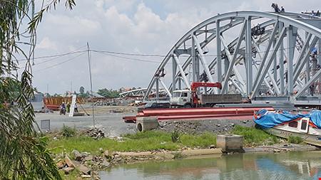 Tai nạn chết người tại công trường cầu Ghềnh - 1