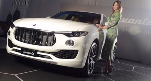 """""""Cây đinh ba"""" Maserati Levante SUV lộ giá - 1"""