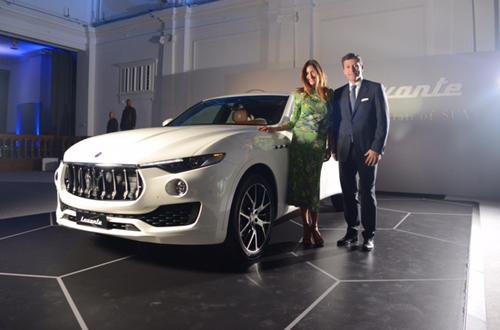 """""""Cây đinh ba"""" Maserati Levante SUV lộ giá - 2"""