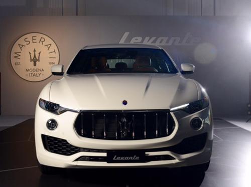 """""""Cây đinh ba"""" Maserati Levante SUV lộ giá - 3"""