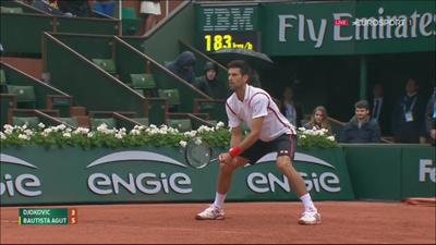 Chi tiết Djokovic - Agut: Quyết tâm là chưa đủ (KT) - 5