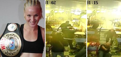 Hãi hùng HLV kiều nữ UFC đấu súng với cướp - 1