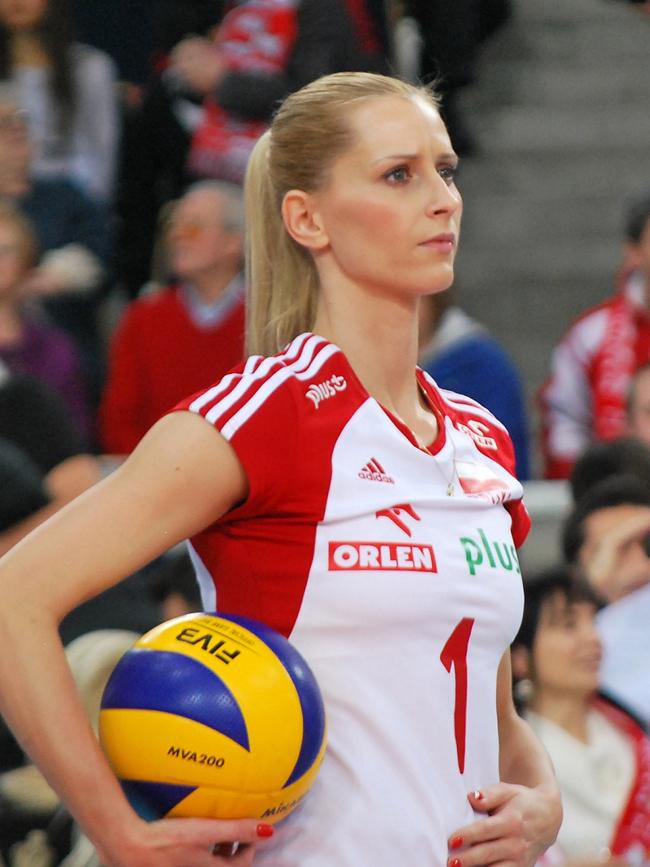 Anna & nbsp;Werblinska - Là thành viên kỳ cựu của bóng chuyền Ba Lan, Anna đã giành được rất nhiều thành tích nổi bật.
