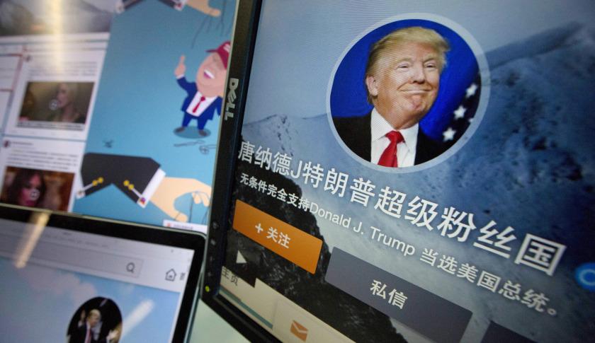 """Vì sao dân mạng Trung Quốc tôn tỉ phú Trump là """"thánh""""? - 1"""