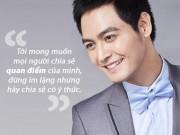 Những câu nói nhận nghìn like của Phan Anh