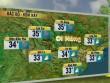 Dự báo thời tiết VTV ngày 31/5: Miền Trung nắng nóng 39 độ C
