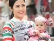 Hoa hậu Ngọc Hân dịu dàng với áo dài in cờ Ý