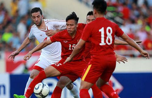 Việt Nam-Syria (2-0): Hạng 110 nhìn hạng 145 'múa' - 1