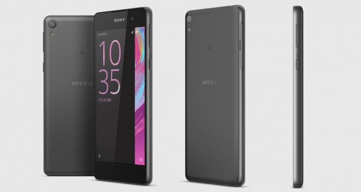 Sony Xperia E5 ra mắt - 2