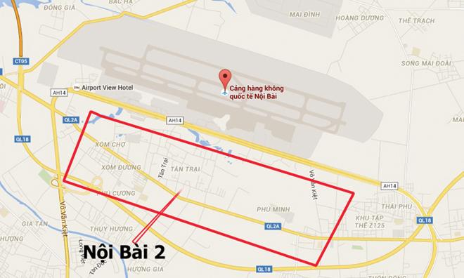 """Mở rộng Sân bay Nội Bài: Riêng """"tiền đất"""" mất 2 tỷ USD - 1"""