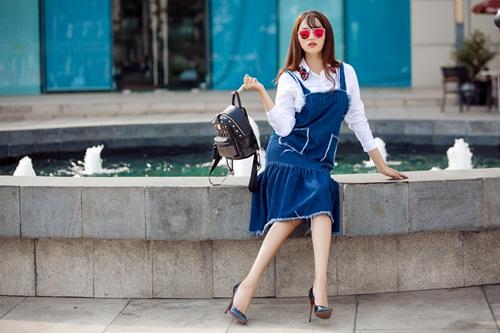 Hương Giang Idol và cách mặc gợi cảm, mát mẻ ngày hè - 5