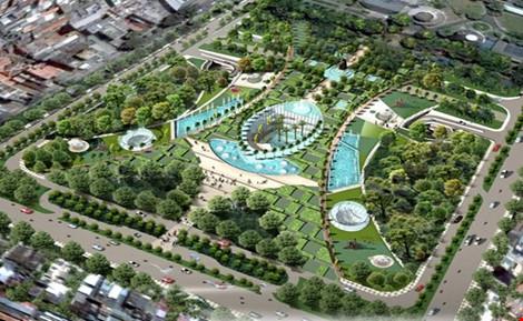 Hà Nội sẽ xây 5 công viên đạt tiêu chuẩn thế giới - 1