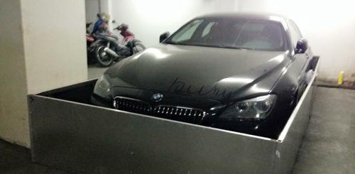"""Sợ chuột """"hỏi thăm"""", chủ xe bảo vệ BMW 640i bằng thùng inox - 1"""