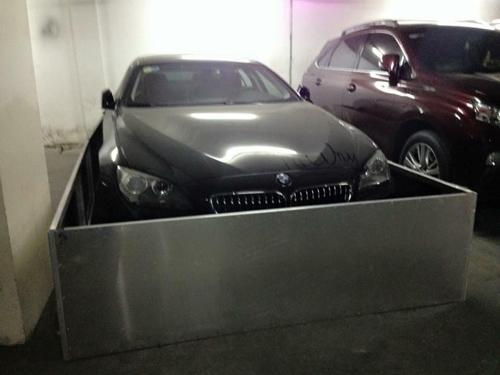 """Sợ chuột """"hỏi thăm"""", chủ xe bảo vệ BMW 640i bằng thùng inox - 2"""