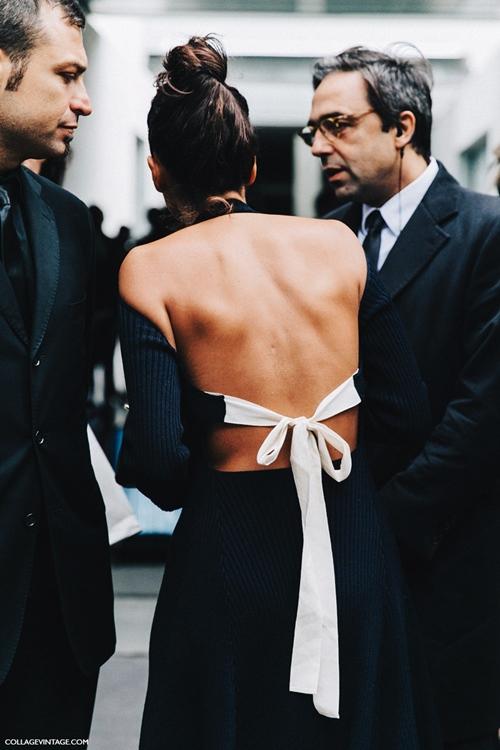 Váy trần lưng và sự quyến rũ có chủ đích - 1