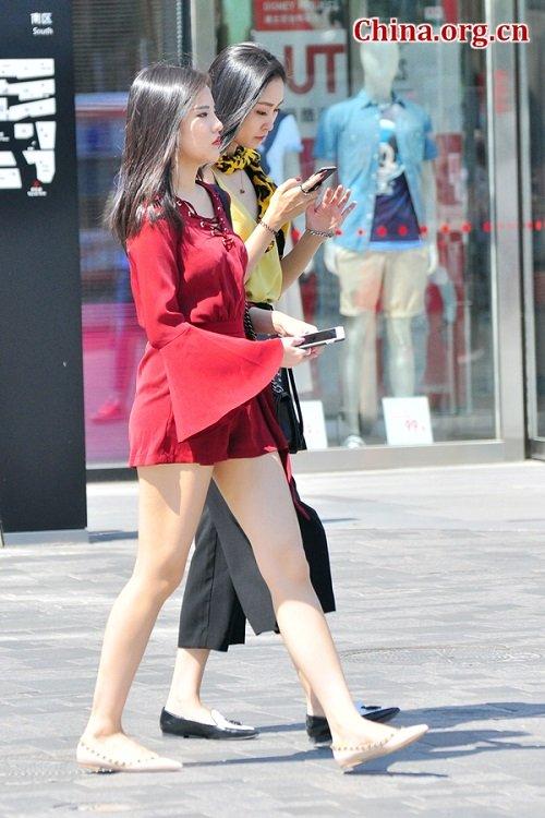 Không chỉ Hà Nội, soóc ngắn cũng đang dày đặc Bắc Kinh - 4