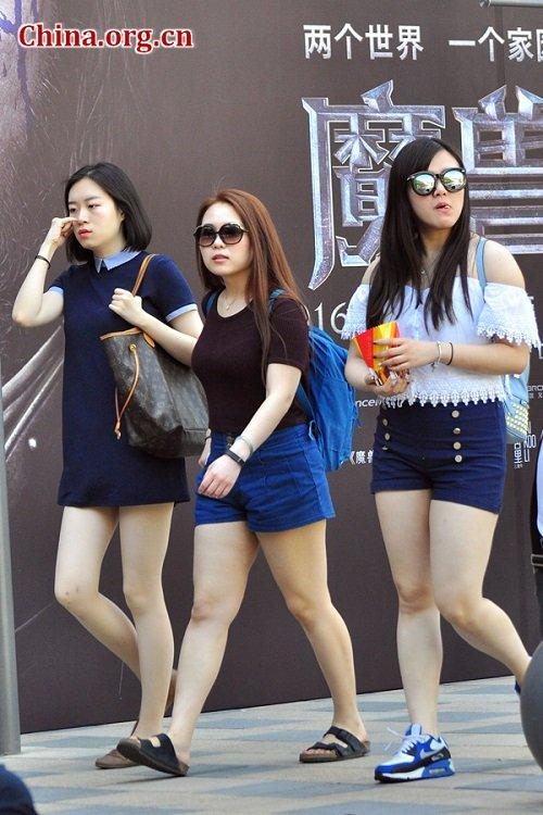Không chỉ Hà Nội, soóc ngắn cũng đang dày đặc Bắc Kinh - 7
