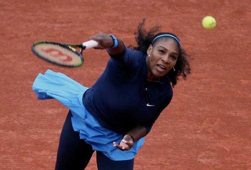 Roland Garros ngày 11: Serena thần tốc vào tứ kết, Venus ra về - 1