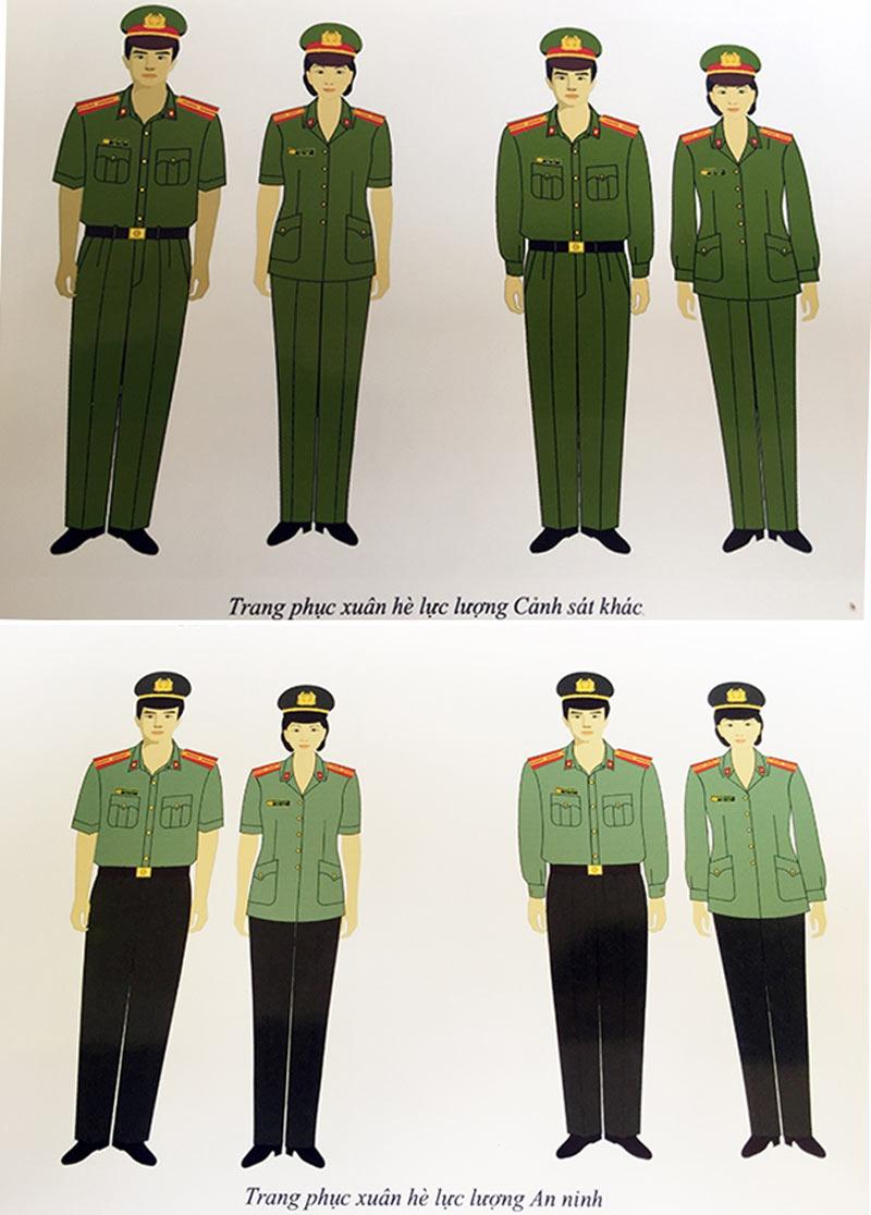 Ngắm những bộ trang phục lực lượng công an từng sử dụng - 14