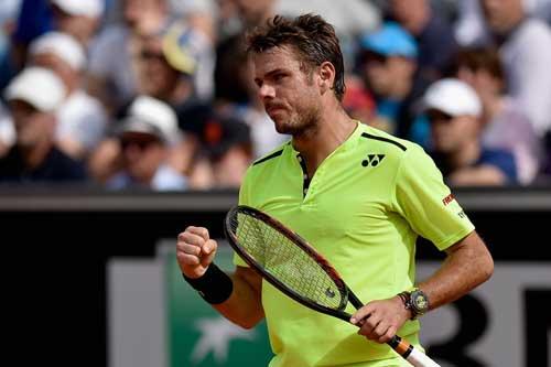 """Wawrinka – Ramos: """"Hoàng đế"""" ra oai (Tứ kết Roland Garros) - 1"""